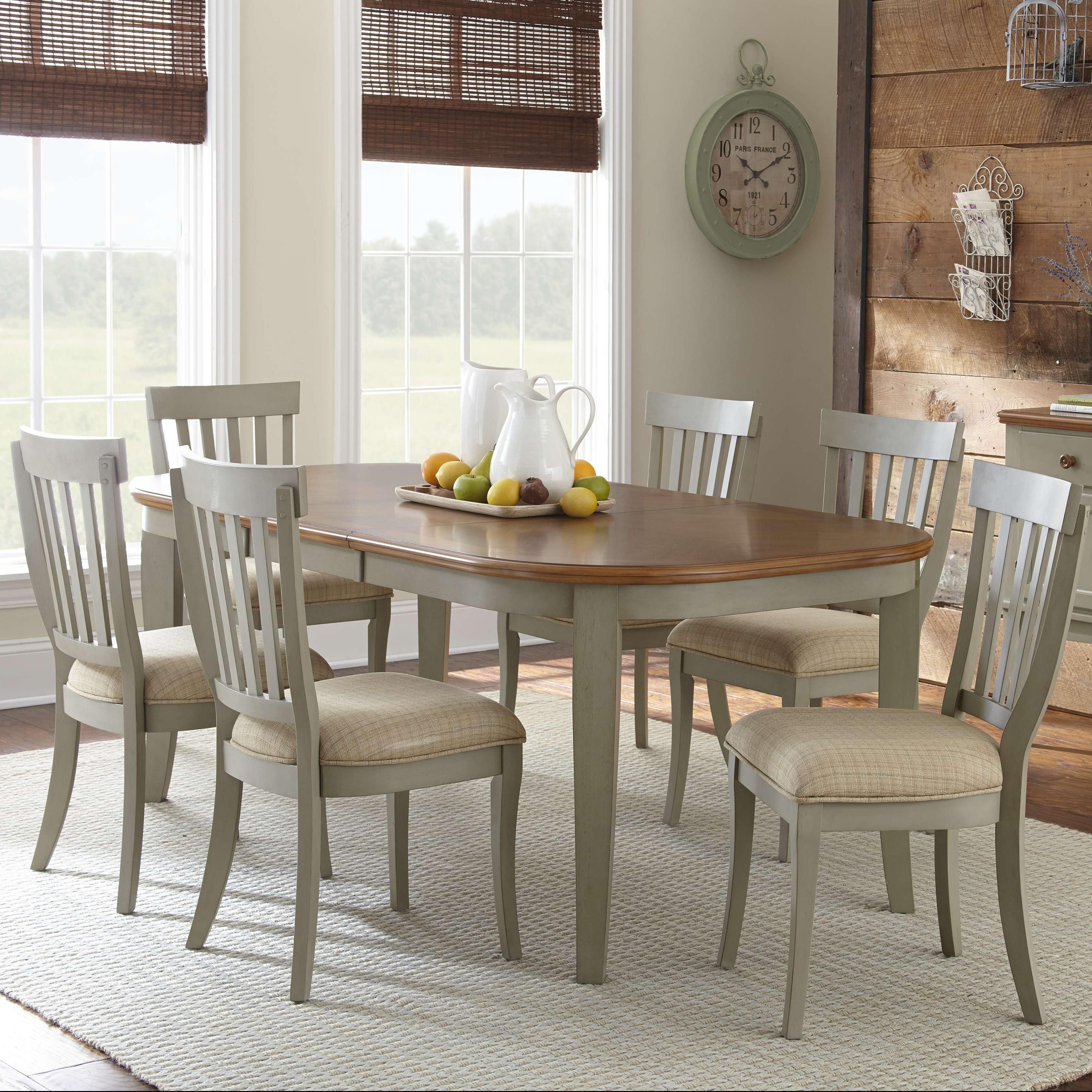 Dublin 7 piece dining set by steve silver dining sets pinterest found it at wayfair lombardy extendable dining table dzzzfo