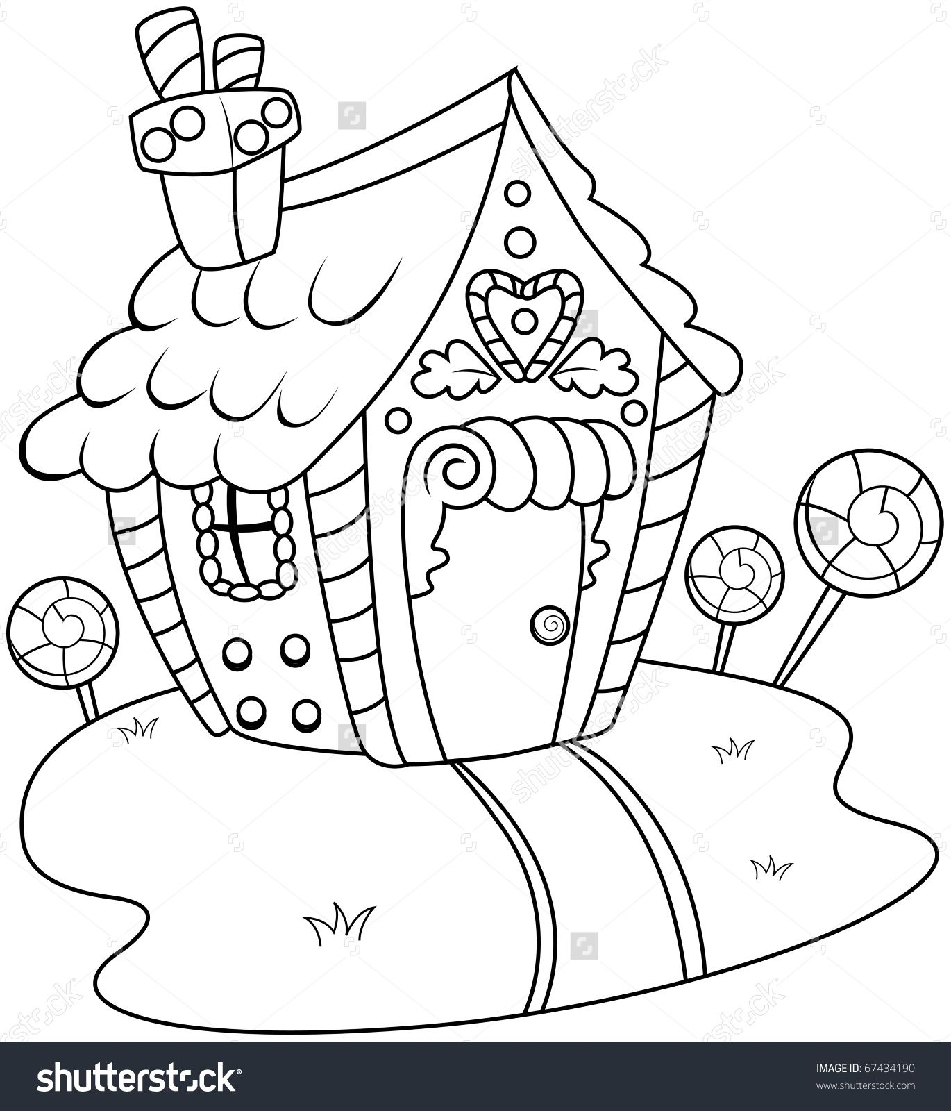 Hansel and gretel coloring page sbmass com