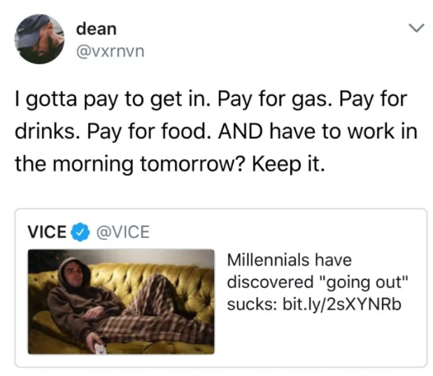 100 Jokes And Memes About Millennials That Will You Laughing And Crying For Hours Millennials Funny 100 Jokes Millennial Memes