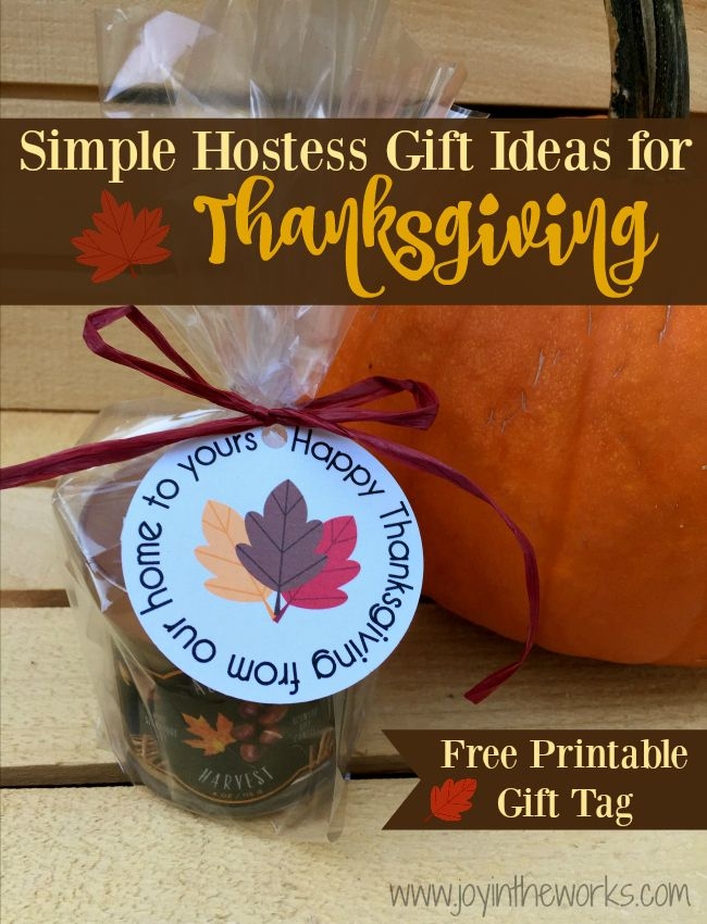 Looking For A Hostess Gift To Bring Thanksgiving Dinner Forget Flowers Or Wine Check Out These Creative Yet Simple Ideas