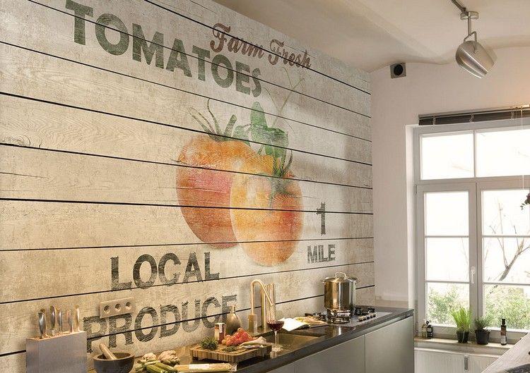 Tapete Fur Kuche Auswahlen 20 Ideen Fur Stilvolle Wandgestaltung