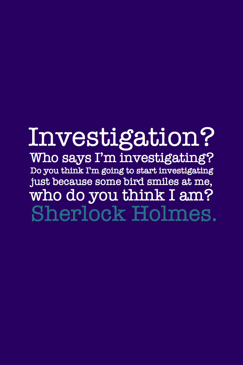 Doctor Who Quotes About Love Doctor Who Making Sherlock Referenceslove It 3  Timeywimey