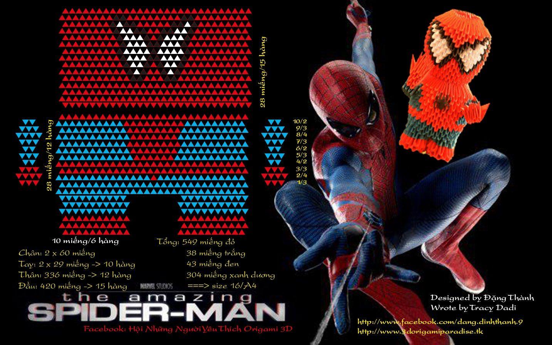Pin By Louise Lee On 3d Origami Spiderman Pinterest Roselia Diagram Pokegami Deviantart Spider Man Https Sitesgooglecom Site