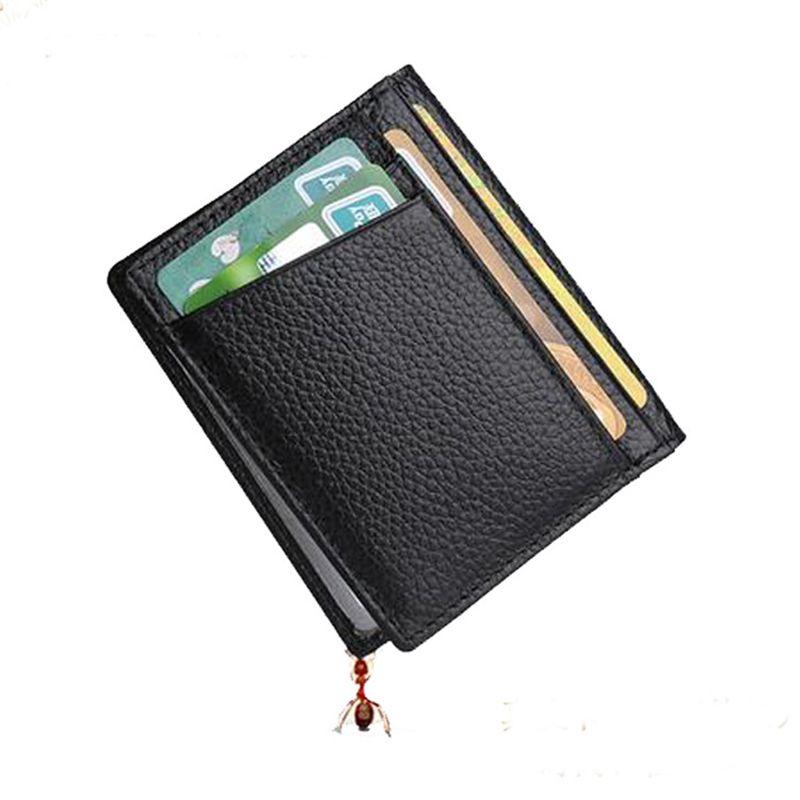 Dreamlizer Slim Genuine Leather Women Card Holder Wallets Small ...