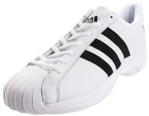 adidas Men\u0027s Superstar 2G Fresh Basketball Shoe,Running White/Black/Running  White,