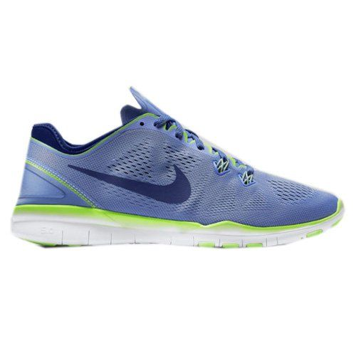 nike free 5.0 gs junior blau