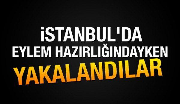 İstanbul'da 8 el yapımı bomba ve 15 kilo amonyum nitrat ele geçirildi
