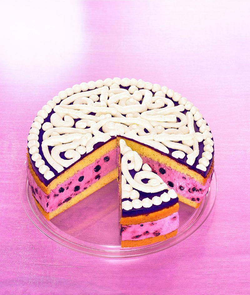 HeidelbeerJoghurtTorte  Rezept  Zauberhafte Torten