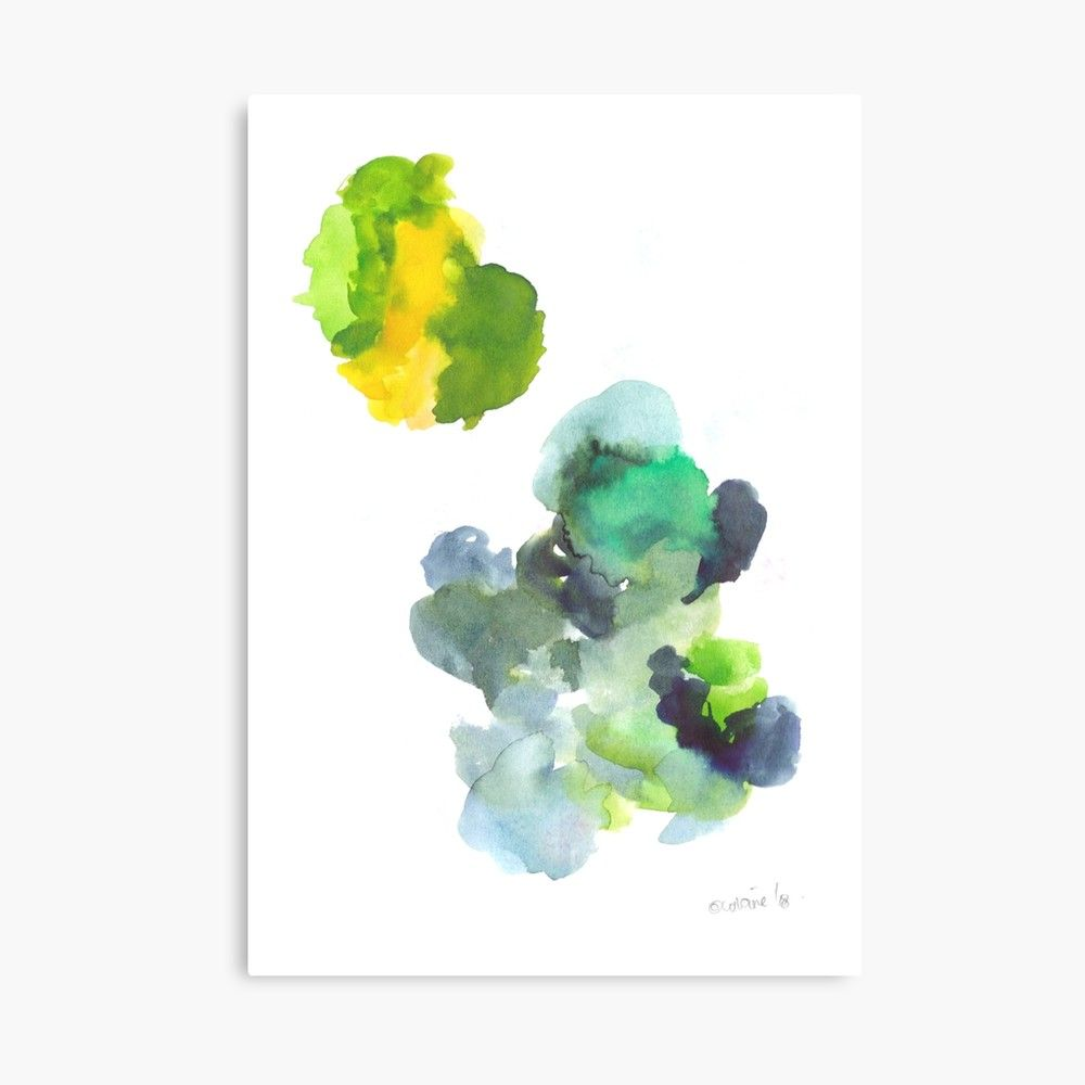 Kmart Canvas Printing 180802 Beautiful Rejection 17 Watercolour Abstract Art Prints