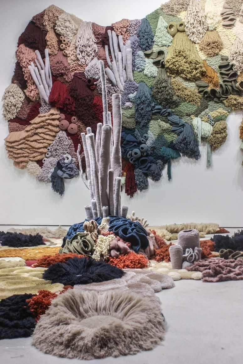 #textiles #materials in #art and #design - ' Material World These Textile Artisans Are Using Needle and Thread in the Coolest Ways'