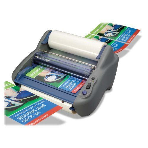 Gbc Ultima 35 Ezload 12 Inch Roll Laminator 1701680 By Gbc 500 00 Film Loading Just Got Easier The Ultima 35 Ezload R Laminators Making Film Loading Time