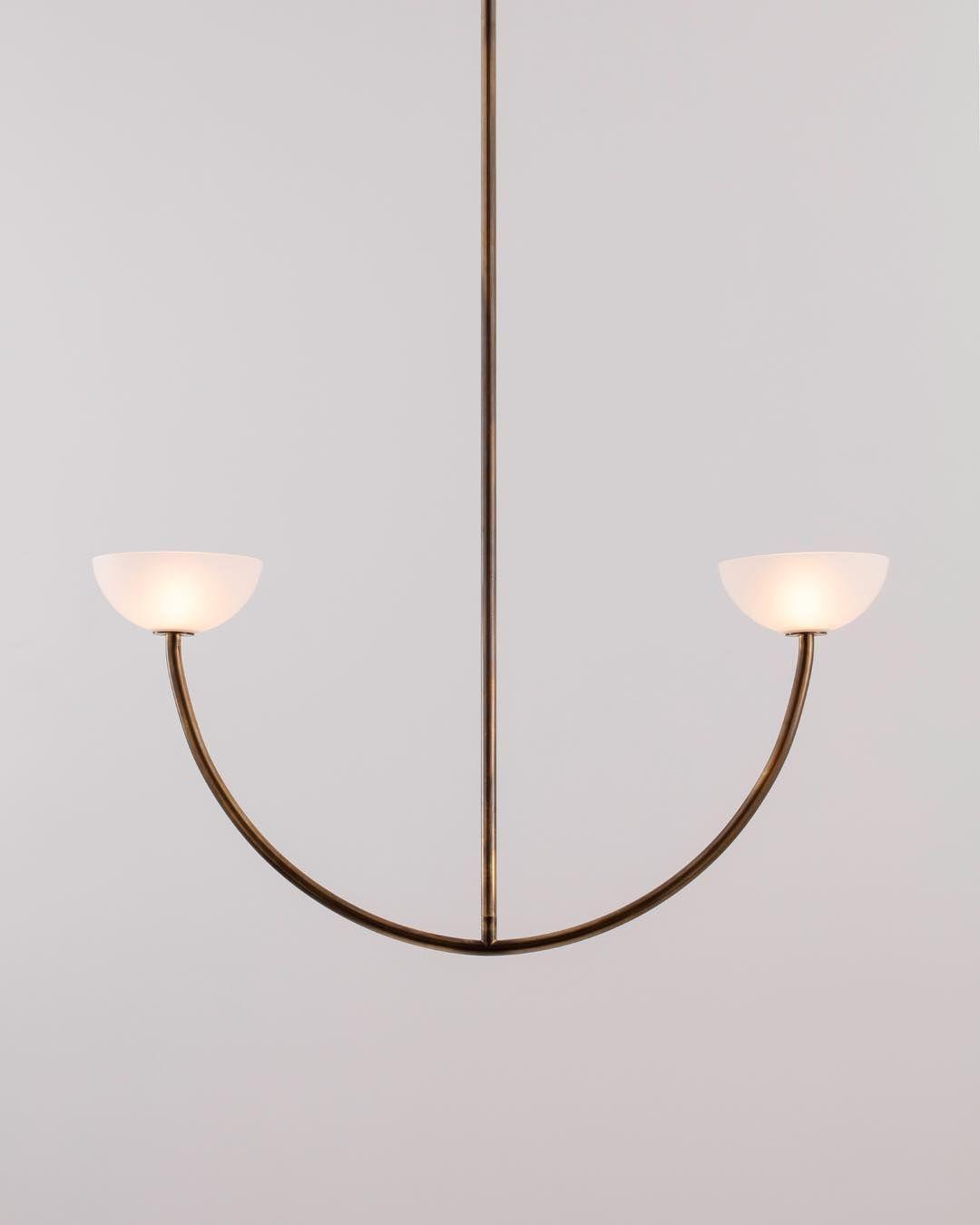 Allied Maker On Instagram 38 Diameter Custom Bend On Our Bright Side Pendant Indoor Lighting Ceiling Lights Light