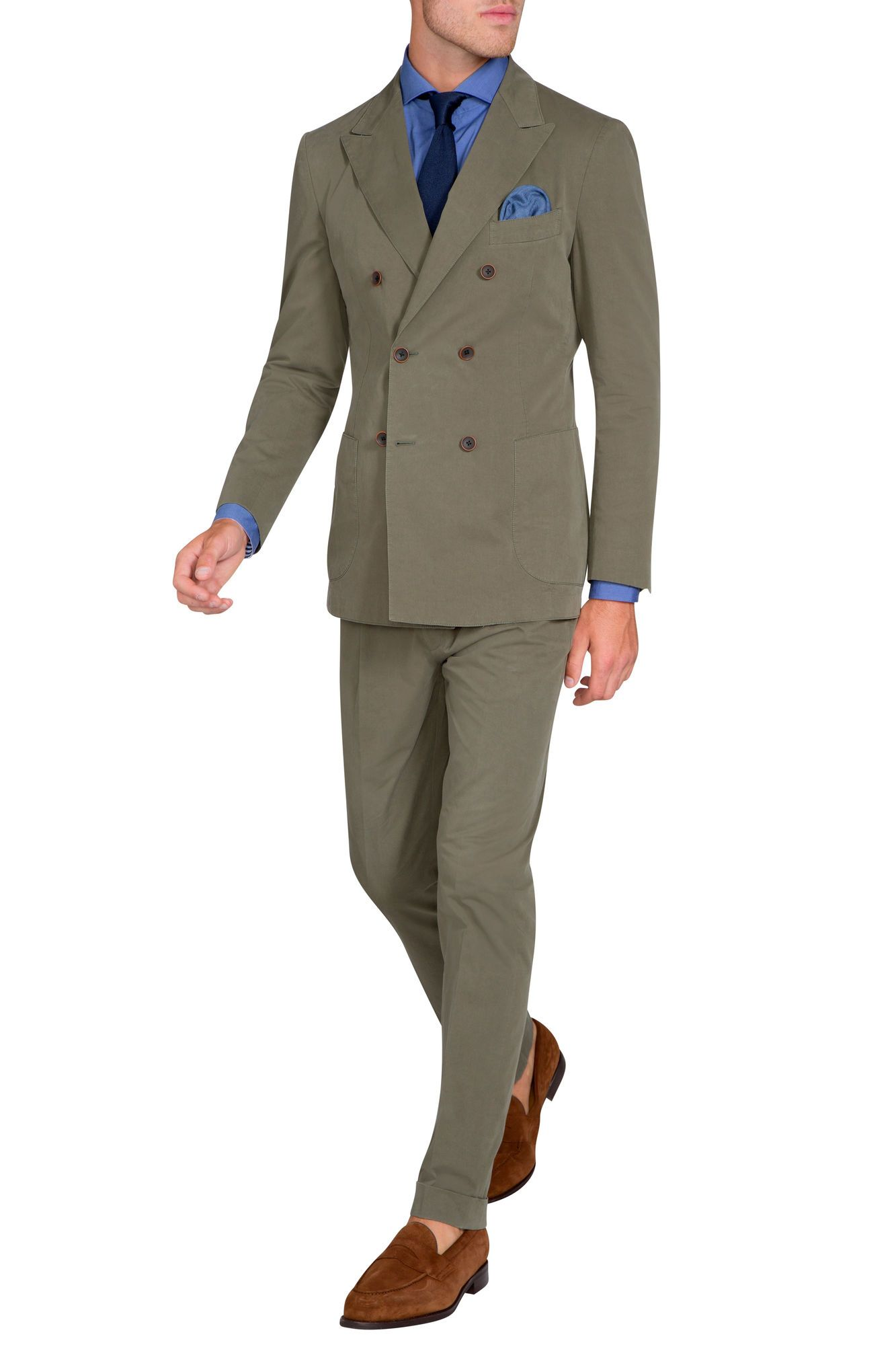 Demaret Khaki Trouser | Suit Separates | looks to recreate ...