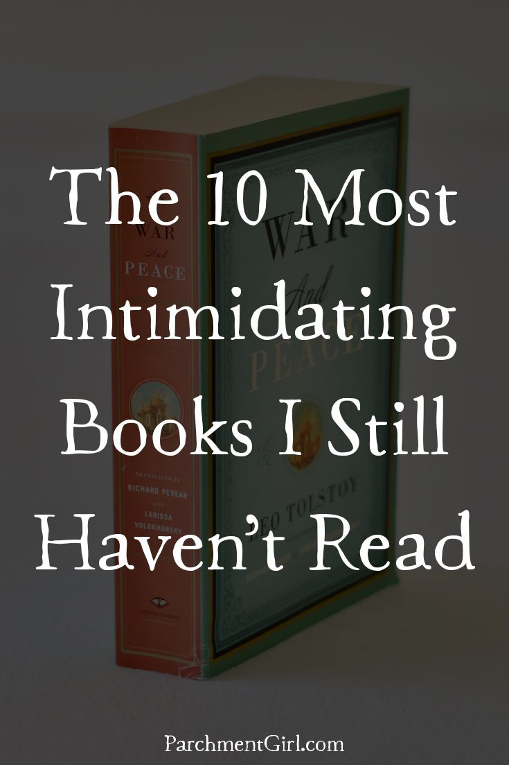 Intimidating books to read