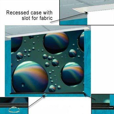 Glass Beaded Access Series M Manual Screen 99 Diagonal Widescreen Format By Draper Inc 659 99 203052 Featur Projection Screen Projection Screens Screen