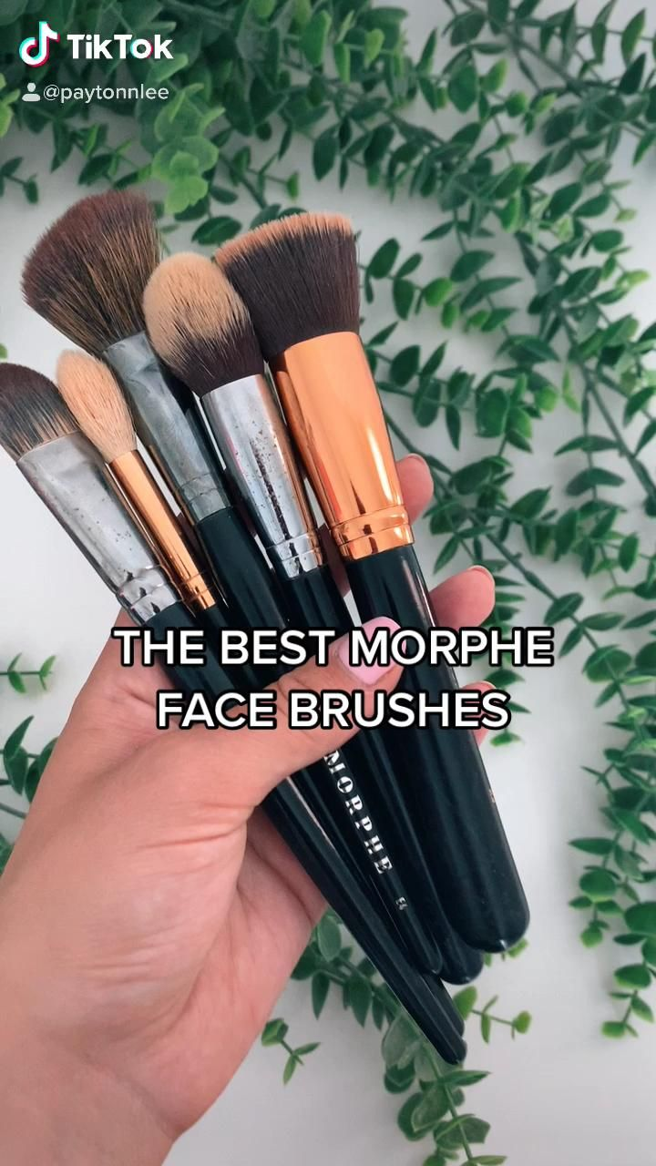 The Best Morphe Face Brushes Video Eye Makeup Makeup Brushes Favorite Makeup Brushes