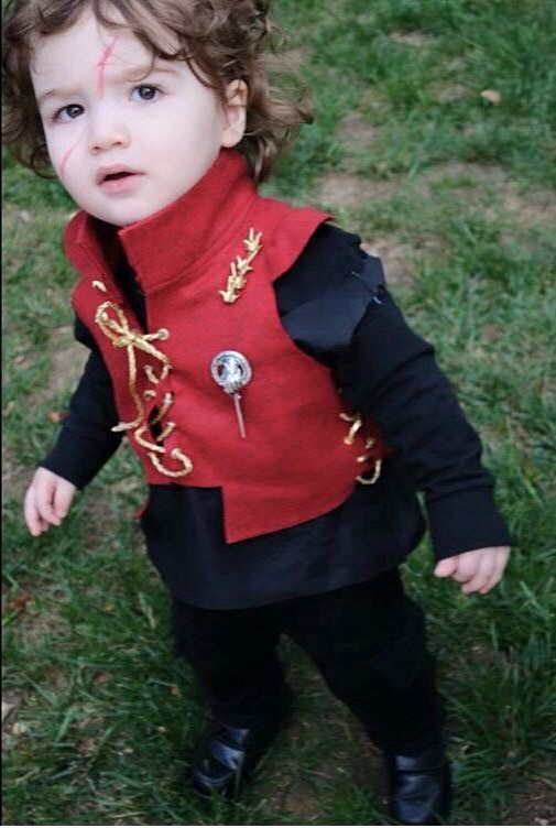 Baby Tyrion Lannister\u0027s Cosplay , Game of Thrones Disney Family Costumes,  Family Halloween Costumes,