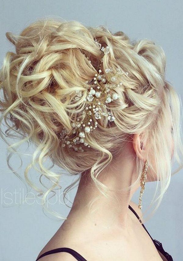 75 chic wedding hair updos for elegant brides chongos
