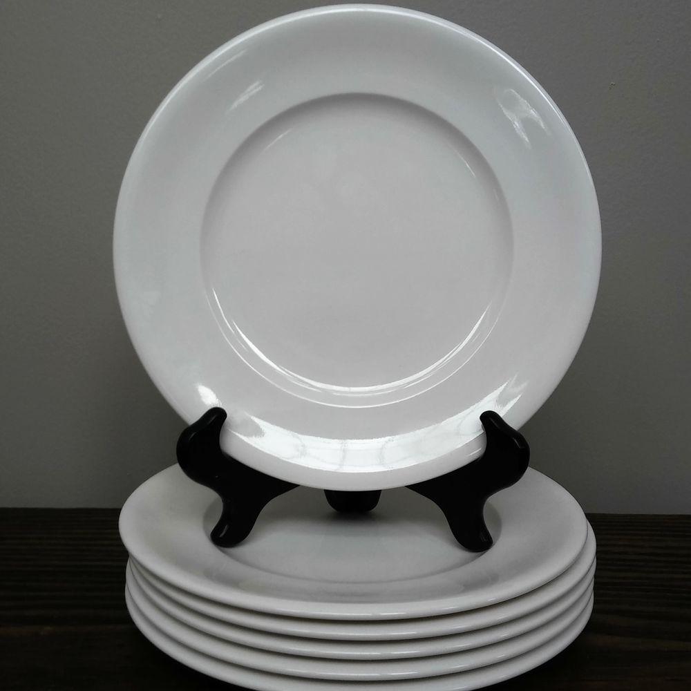 NEW Villeroy Boch Home Elements 6 Salad/Dessert Plates 8.25 ...
