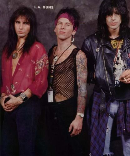 Kelly Nickels, Tracii Guns & Phil Lewis