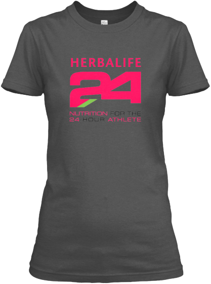 Awesome Pink Herbalife 24 Logo Tees Logo Tees T Shirts For Women Mens Tops