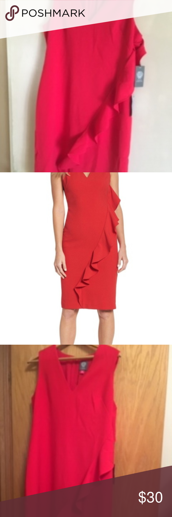 Nordstrom S Nwt Vince Camuto Dress Nwt Vince Camuto Red Dress Purchased At Nordstroms Vince Camuto Dresses Mi Vince Camuto Dress Clothes Design Dress Purchase [ 1740 x 580 Pixel ]