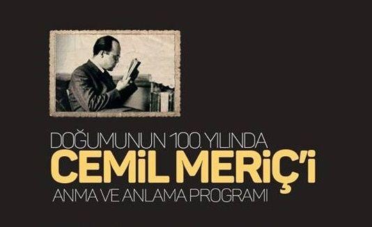 Doğumunun 100. Yılında Cemil Meriç - Edebiyat Haber Portalı