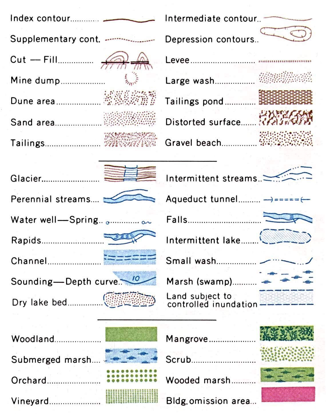 Water Legend Fun Pinterest Water Geology And Cartography - Us map legend