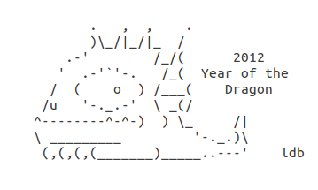 Year Of The Dragon Happy New Year Ascii Text Art Year Of The Dragon Ascii Art Text Art