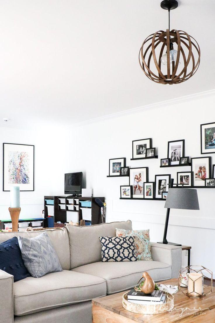 Photo of Kid-Friendly Family Room Design! | Designertrapped.com