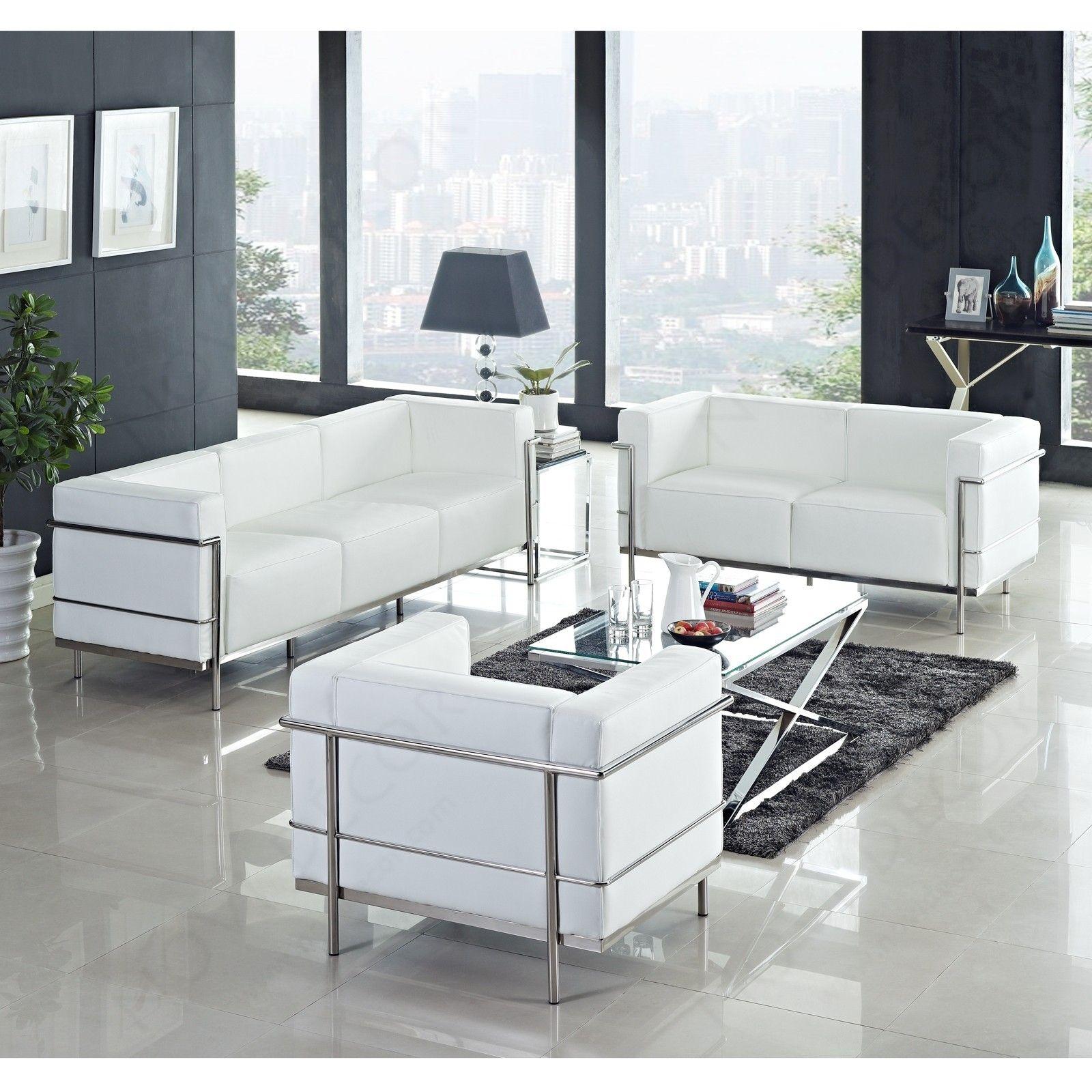 le_corbusier_lc3_sofa | Mini-Interiors | Pinterest | Le corbusier ...
