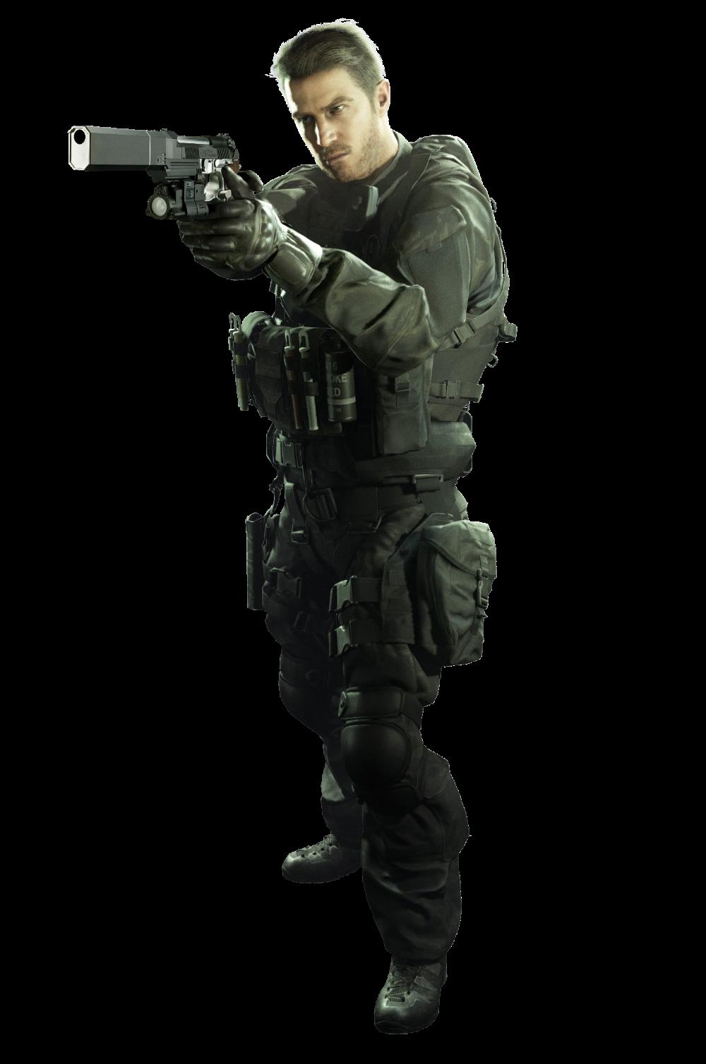 Resident Evil 7 Chris Redfield Ultra Hd Png Render By Muraimustdie On Deviantart Resident Evil Hunk Resident Evil Resident Evil Game