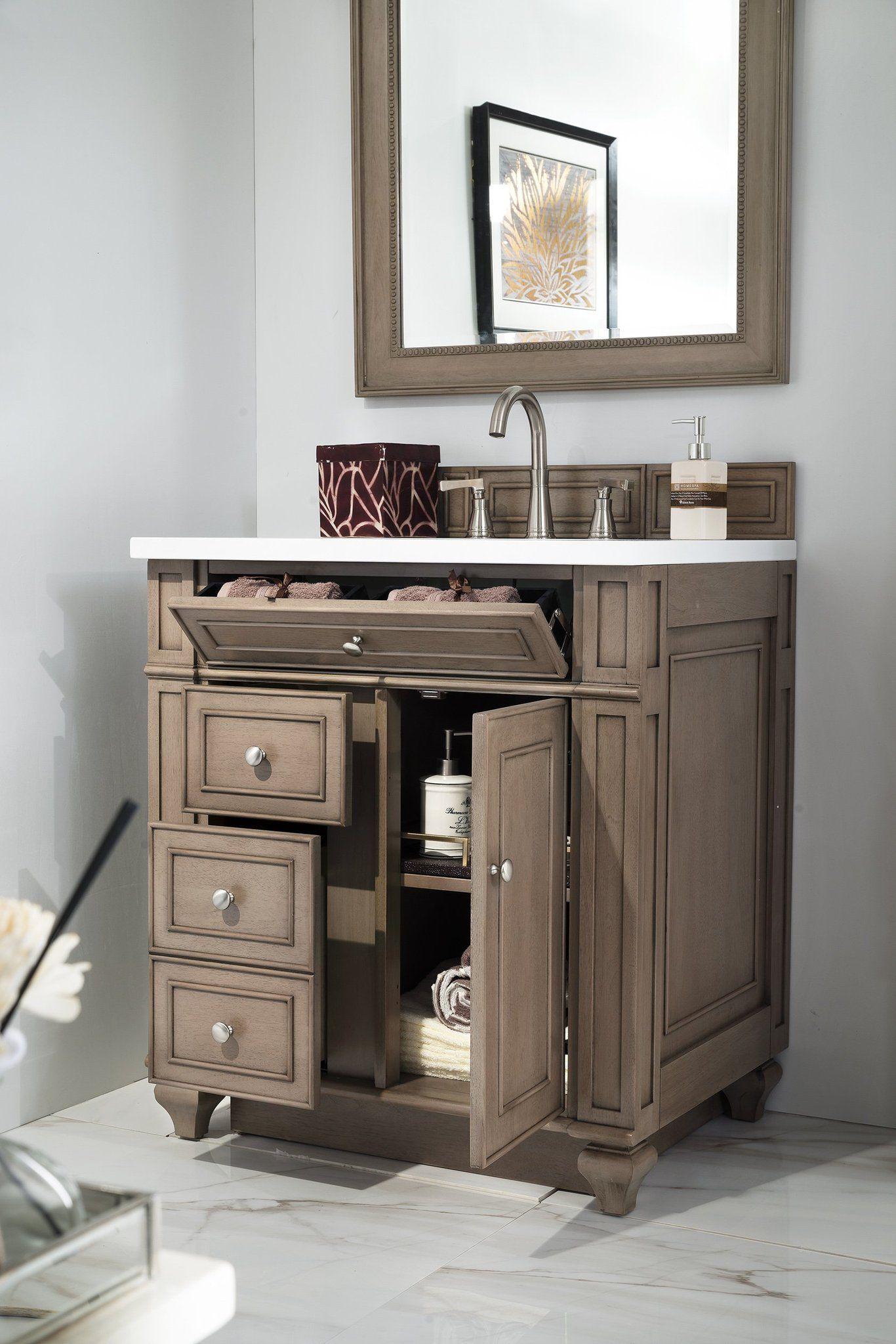 Bristol 30 Single Bathroom Vanity Single Bathroom Vanity