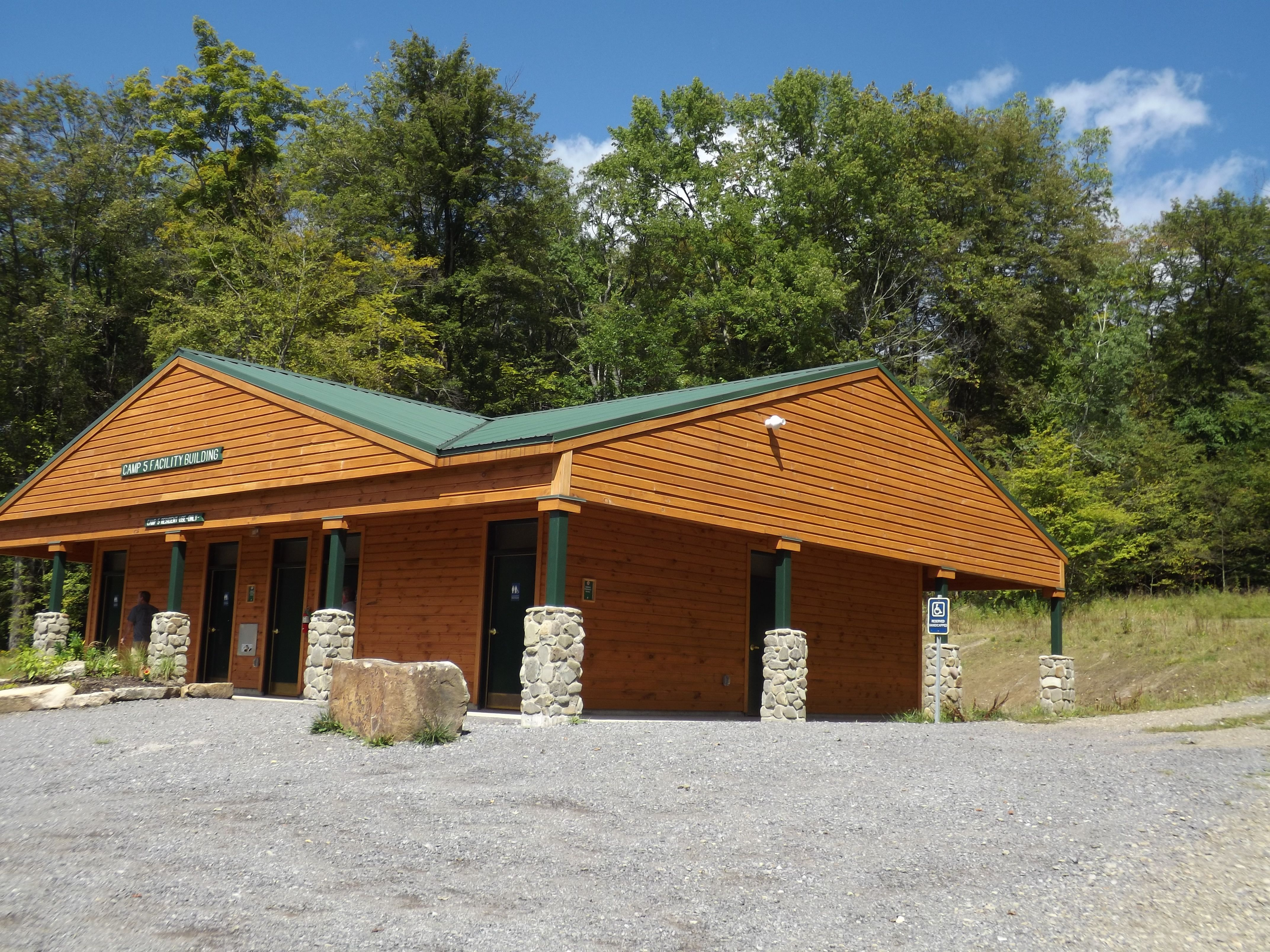 Allegany State ParkGroup Camp 5 Bath House This has at least 8
