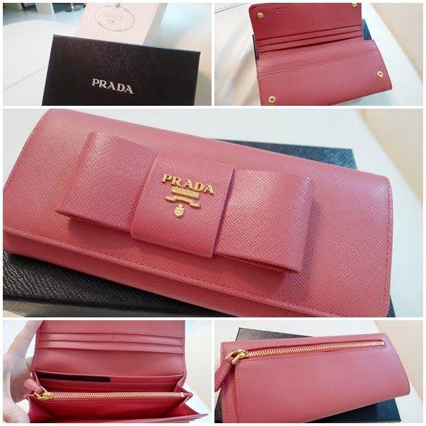 945a817d6ed4 ... promo code for prada saffiano fiocco bow wallet f5191 048ac