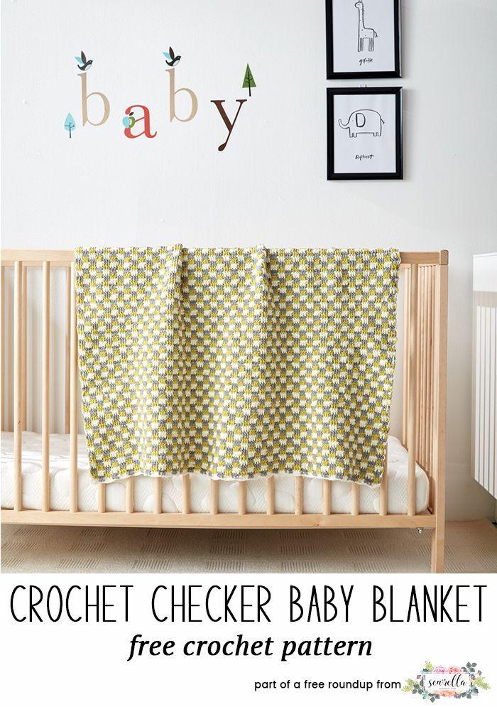 Best Crochet Baby Blankets for 2018 | Tejido