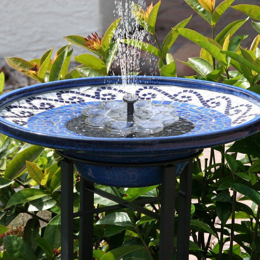 Amazon com : Solar Fountain, Kearui 1 6W Outdoor Solar Panel Kit