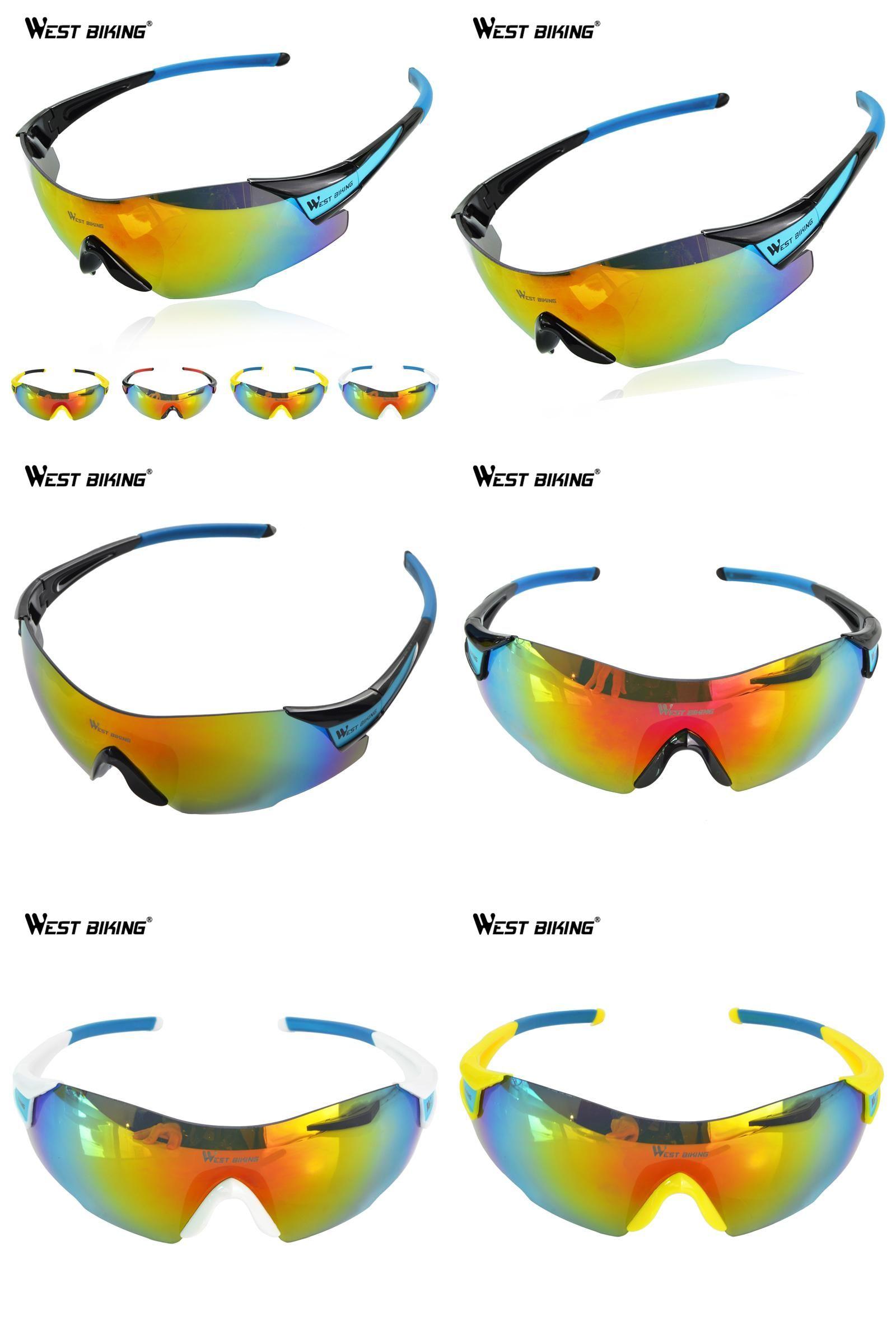[Visit to Buy] WEST BIKING Bike Glasses Men Woman Sports Sunglasses Sunscreen Anti-UV Bicycle Eyewear Windproof Bicycle Bike Cycling Glasses #Advertisement
