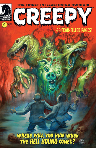 Loved doing this interview with Dan Braun, of Creepy.