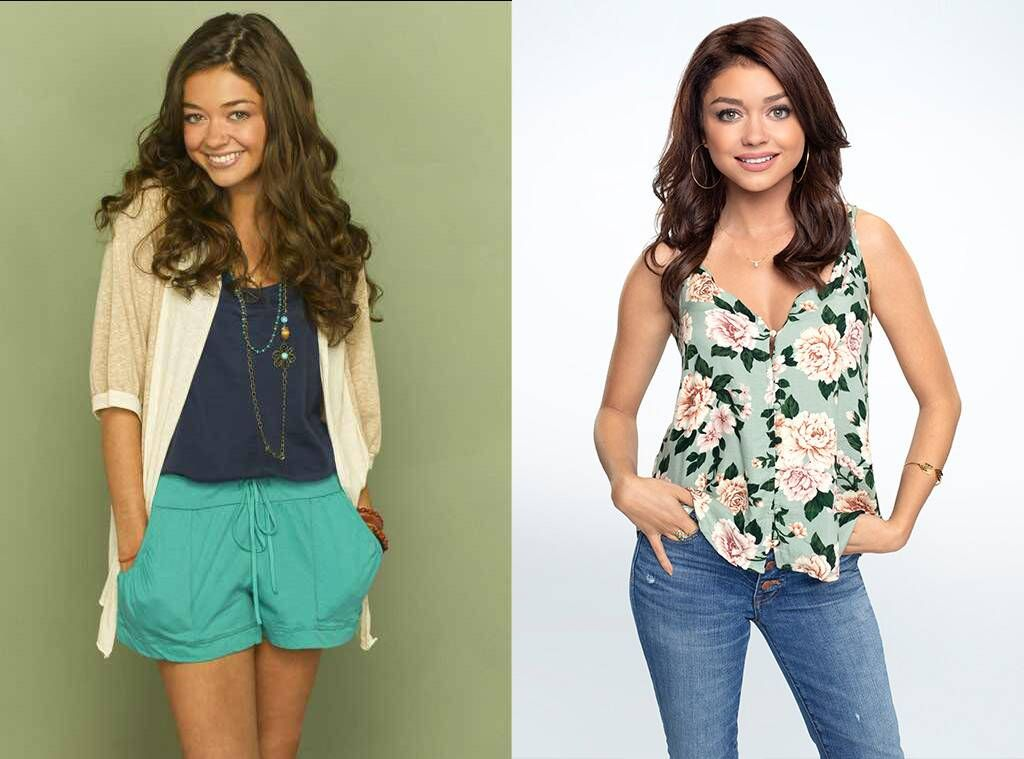 Sarah Hyland As Haley Dunphy From Modern Family Then And Now In 2020 Modern Family Haley Modern Family Family Outfits