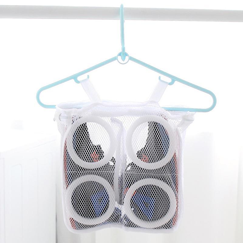 Laundry Bag Shoes Organizer Bag for shoe Mesh Laundry Shoes Bags Home Organizer