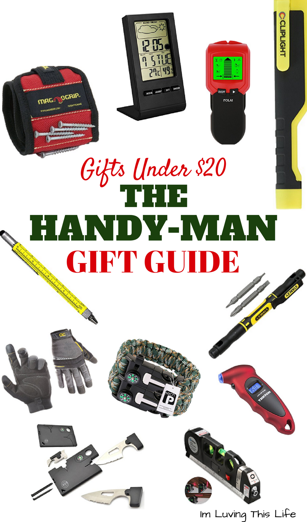 Inexpensive gift ideas for a handyman gift christmas for Super cheap gift ideas