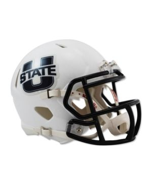 Schutt NCAA Utah State Aggies Mini Authentic XP Football Helmet