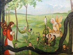 Sibylle von Olfers- The Butterfly Children