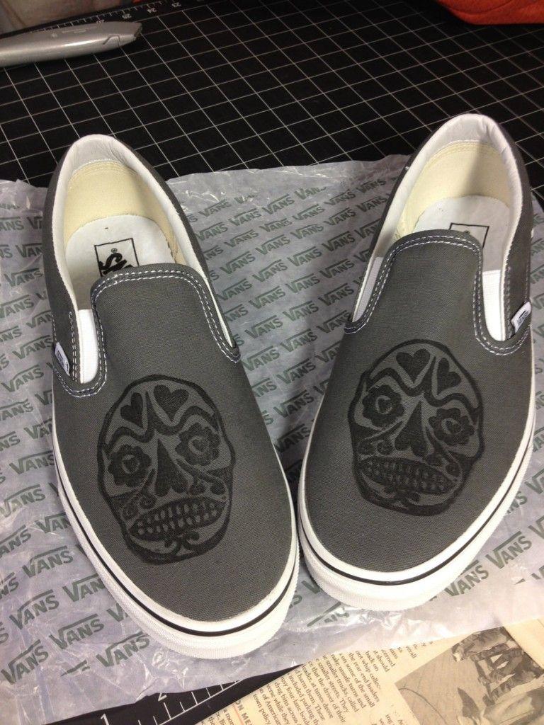 14 Vans shoes skull design | Vans
