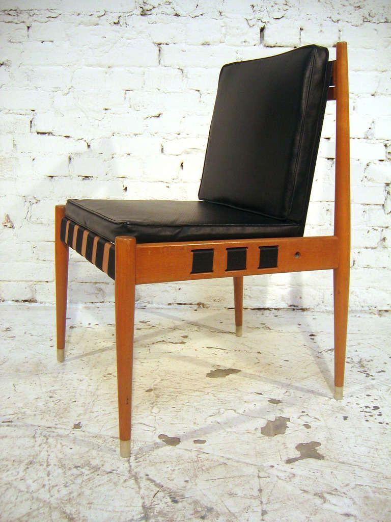 Pair of Chairs by Egon Eiermann 'SE 121' image 2