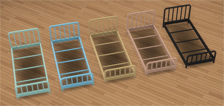 Toddler Metal Bed Frame & Mattress Metal beds, Bed frame