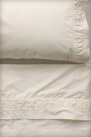 ruffled edge sheets