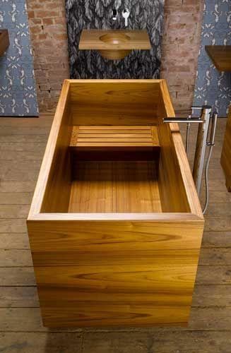 William Garvey Japanese style Ofuro bath in teak, http://stargate2freedom.com/2013/08/22/the-new-world-order-4-life/