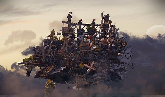 CloudHaven ~ The Floating City Minecraft Project ...